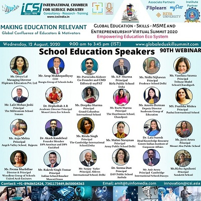 Global Education Skillls MSME and Entrepreneurship Virtual Summit 2020 Loading...