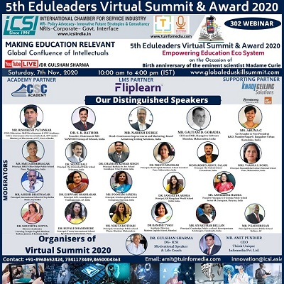 5th Eduleaders Virtual Summit & Awards Loading...