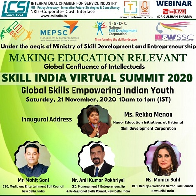 SKILL INDIA VIRTUAL SUMMIT 2020 Loading...
