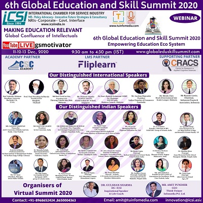 6th Global Education And Skill Summit 2020 Loading...